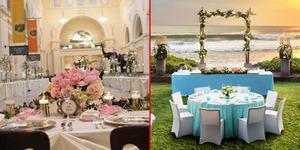 5 Tempat Pesta Pernikahan Paling Unik