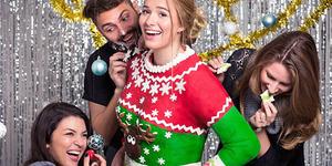 Sweater Natal Cantik Bisa Dimakan