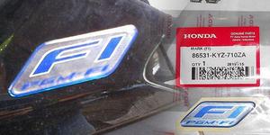 Awas! Stiker 'Fuel Injection' di Motor Honda Diincar Maling