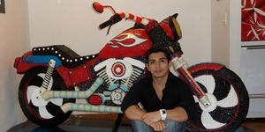 Christiam Ramos Buat Karya Seni Mengesankan Dengan Permen