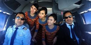 Foto Narsis Pramugari & Pilot Di #crewlife