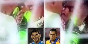 Heboh! Pemain Sepakbola Meksiko Ciuman Mesra Rayakan Kemenangan