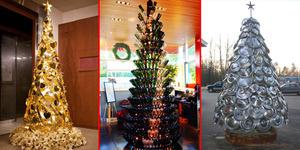 Kreatif, 20 Pohon Natal Unik Dan Cantik