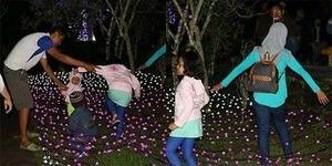 Lagi, Pasukan Selfie Kacaukan Festival of Light Kaliurang
