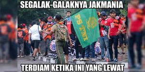 Meme Suporter PS TNI Tak Tertandingi