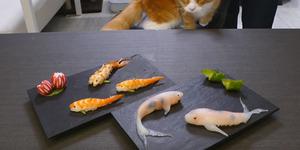 Video Chef Buat Sushi Ikan Koi Yang Menggemaskan