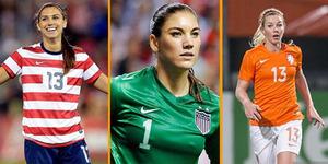 5 Wanita Pemain Bola Paling Cantik 2016