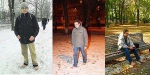 Ampuh, Pria Ini 10 Tahun Berjalan di Salju Tanpa Alas Kaki