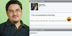 Banyak Tingkah, Jonru Ternyata Dulu 'Cuma' Penulis Konten Blog
