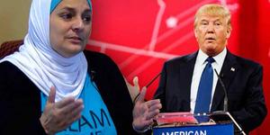 Hadiri Kampanye Donald Trump, Muslimah Hamid Diusir