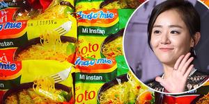 Heboh Moon Geun Young Pamer Foto Mi Instan Indomie