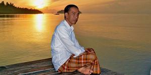 Jokowi Melihat Sunrise Perdana 2016 Didoakan Terpilih 2 Periode