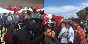 Sederhananya Anak Jokowi, Rela Berdiri Meski Tak Dapat Kursi