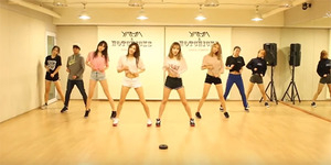 Stellar Buka Baju di Video Dance Practice 'Sting'