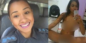 Penjarakan Gembong Kriminal, Foto Bugil Polwan Cantik Disebar