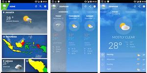 Unduh Aplikasi Informasi Cuaca Android Buatan BMKG