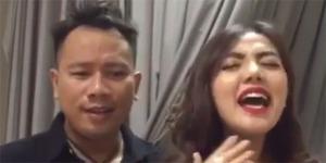 Video Duet Maut Bella Shofie-Vicky Prasetyo Nyanyi Lagu AADC