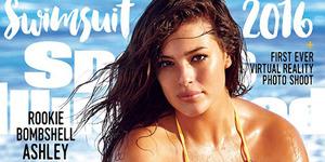 Ashley Graham, Model Tambun Majalah Sports Illustrated