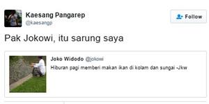 Begini Guyonan Kaesang Pangarep Untuk Jokowi Tentang Kecebong