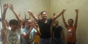 Beredar Foto Saipul Jamil Pimpin Senam di Tahanan