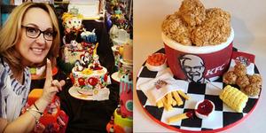 Branka Njegich, Wanita Yang Buat Makanan KFC dari Cake