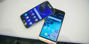 Ejekan 'Maut' LG untuk Samsung Galaxy S7