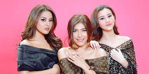Foto Aurel Hermansyah, Aaliyah Massaid, & Rica Andriani Adu Cantik