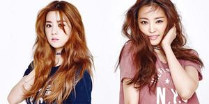 Foto Seksi Na Eun & Chorong A Pink Pamer Perut Rata di Majalah Ceci Korea