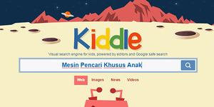 Google Rancang Mesin Pencari Khusus Anak, Kiddle