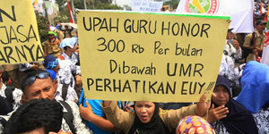 Kecewa Tak Jadi PNS, Guru Honorer Doakan Jokowi Kena Stroke