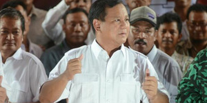 KMP Bubar Dukung Pemerintah, Prabowo: Terserah Kalian