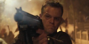 Matt Damon Bikin Keributan di Video First Look Jason Bourne