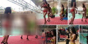 Model Berbikini Joget di Wisata Bangkalan, Ulama: Astagfirullah