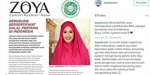 Penjelasan MUI Soal Sertifikat Halal Pada Produk Hijab Zoya