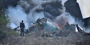 Pesawat Somalia Meledak, 1 Orang Tewas Terjatuh