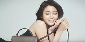 Seolhyun AOA Tampil Cantik Menggoda di Iklan Tas Hazzys