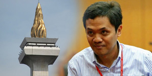 Anak Buah Prabowo Ragukan Jumlah KTP Ahok, Siap Terjun dari Monas