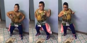 Video: Heboh Bocah Gemuk Joget Lagu Justin Bieber Sorry