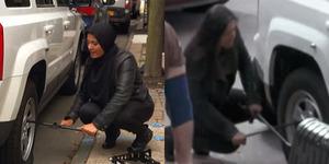 Video: Perbedaan Saat Wanita Berhijab & Wanita Seksi Minta Bantuan