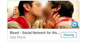 Waduh! Aplikasi Chatting Khusus Gay Beredar di Twitter