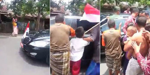 Warga Terharu Jokowi Tiba-tiba Berhenti di Tengah Perjalanan