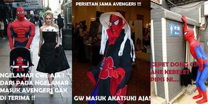 25 Meme Kocak Spiderman Bikin Ngakak Sampek Mules