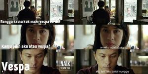 25 Meme Trailer Ada Apa Dengan Cinta 2 Super Kocak