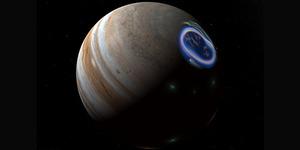 Aurora Indah Terlihat di Permukaan Jupiter