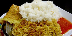 Awas! Makan Mi Instan Pakai Nasi Bisa Picu Diabetes
