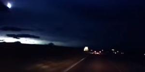 Bola Api Jatuh di Langit Skotlandia, Meteor atau UFO?