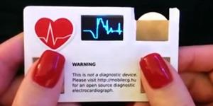 Canggih, Kartu Nama Ini Bisa Deteksi Detak Jantung