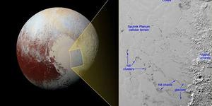 Danau Beku Ditemukan di Permukaan Pluto