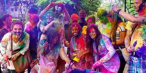Hari Ini Google Doodle Rayakan Festival Holi, Apa Itu?