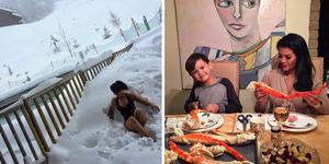 Foto 5 Momen Paling Seksi Farah Quinn di Instagram